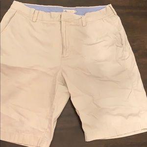 J Crew Men's White Shorts